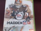 MICROSOFT Microsoft XBOX 360 Game MADDEN NFL 12 - XBOX 360